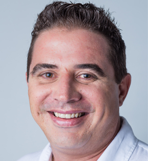 FOTO DO VEREADOR LEANDRO ALVES DE FARIA